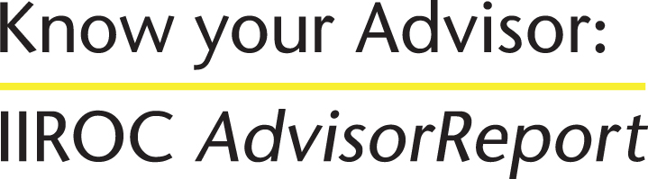 Know Your Advisor