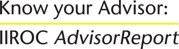 Know Your Advisor